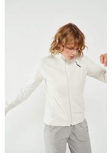 Hummel Kadın Zip Ceket Fubia 921134-9003 Beyaz